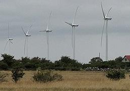 Vindkraftverk på gotland