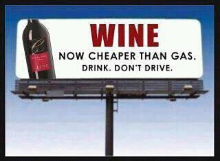 Wine not gas Powerline