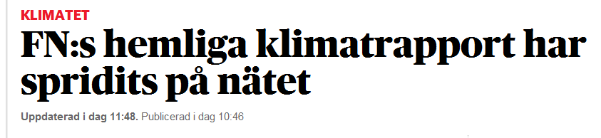 DN klimatrapport