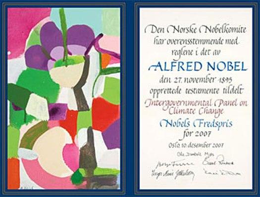 nobel-certificate