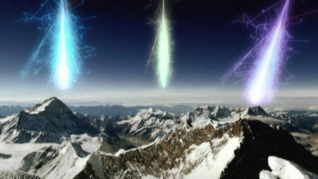 kosmisk partikelstrålning