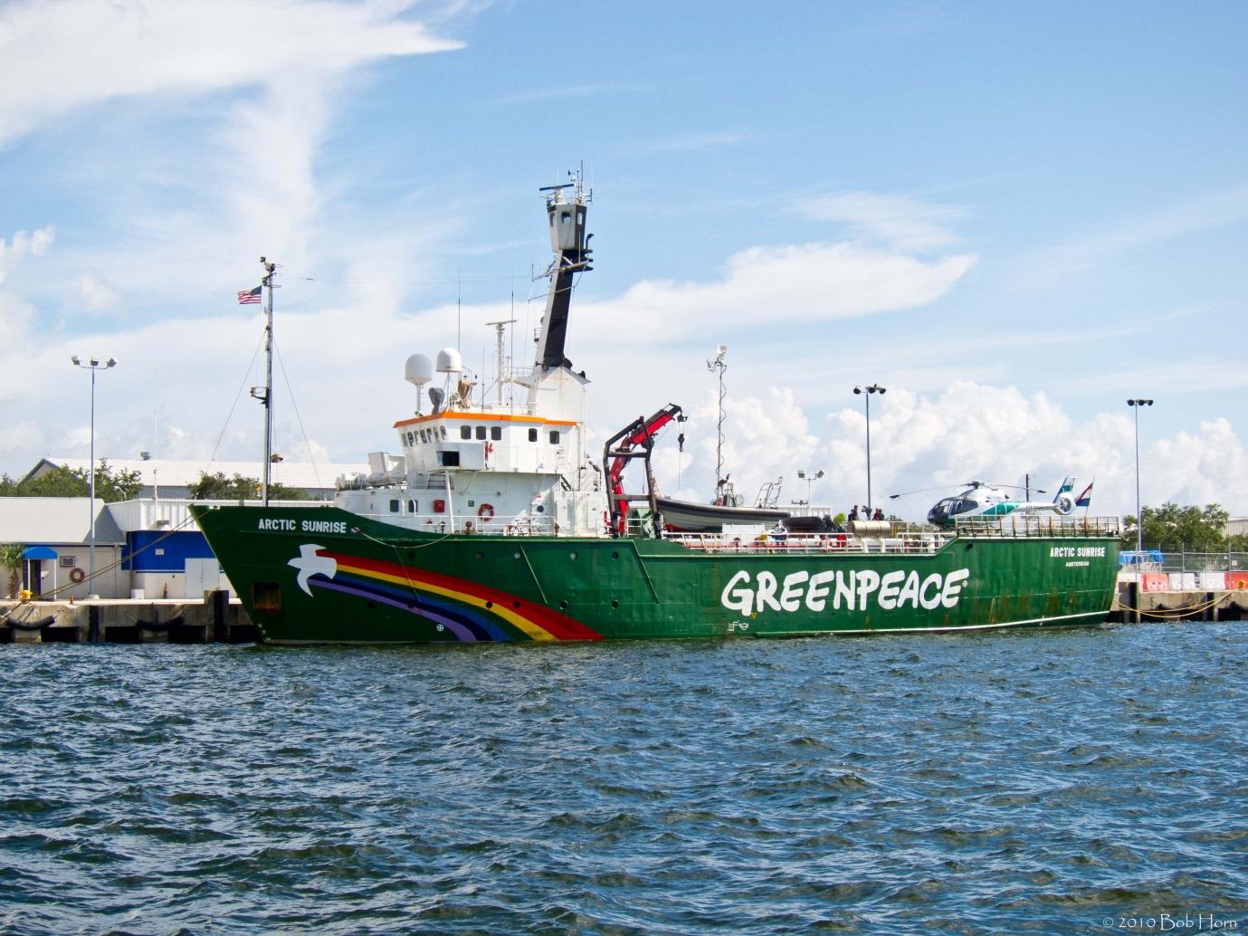 Greenpeacefartyg