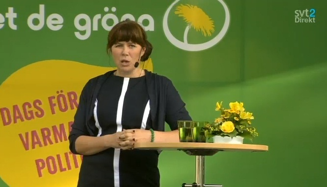 Åsa i Almedalen 2014