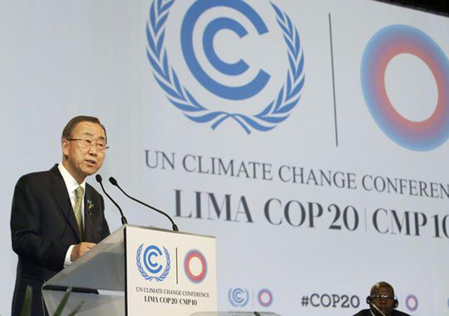 Ban Ki-Moon Lima