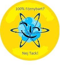100 procent förnybart