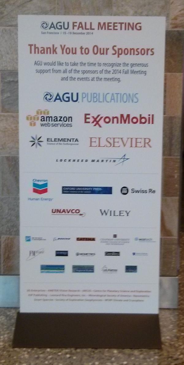 AGU sponsor