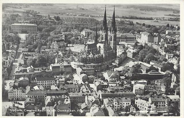 Uppsala år 1936