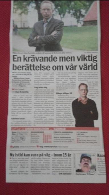Rockström i Aftonbladet