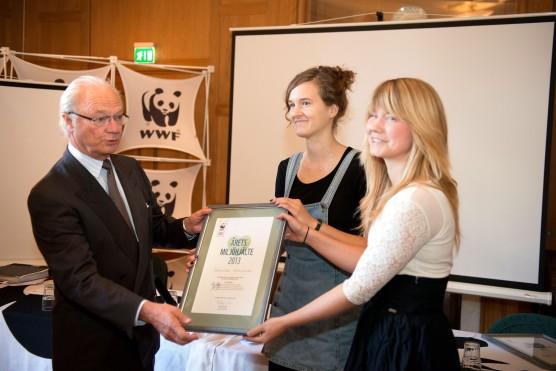 Kungen_WWF_pris