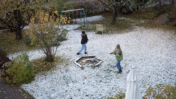 tidig snö