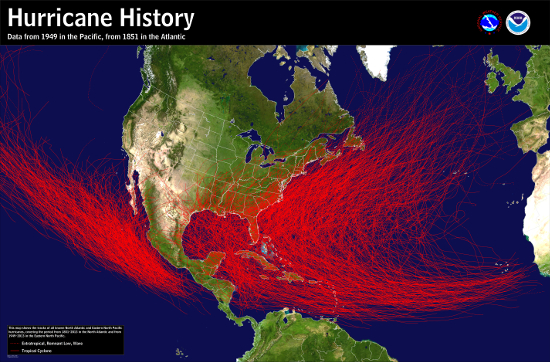 orkanhistoria USA