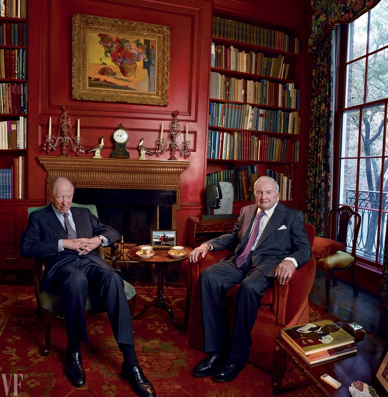 jacob-rothschild-david-rockefeller-charlie-rose