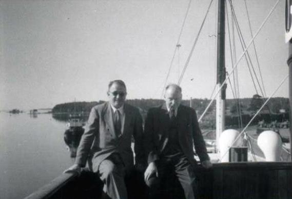 Wexler & C.G. Rossby, Woods Hole 1956
