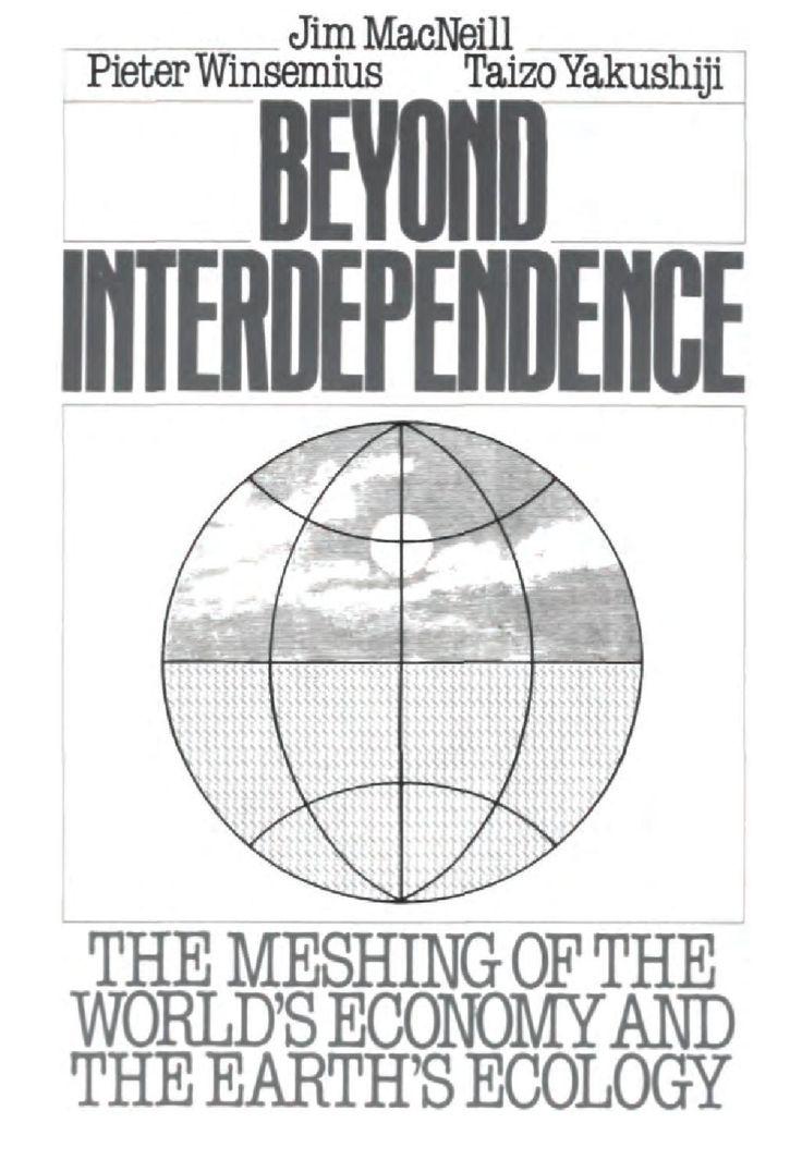 Beyond Interdependence