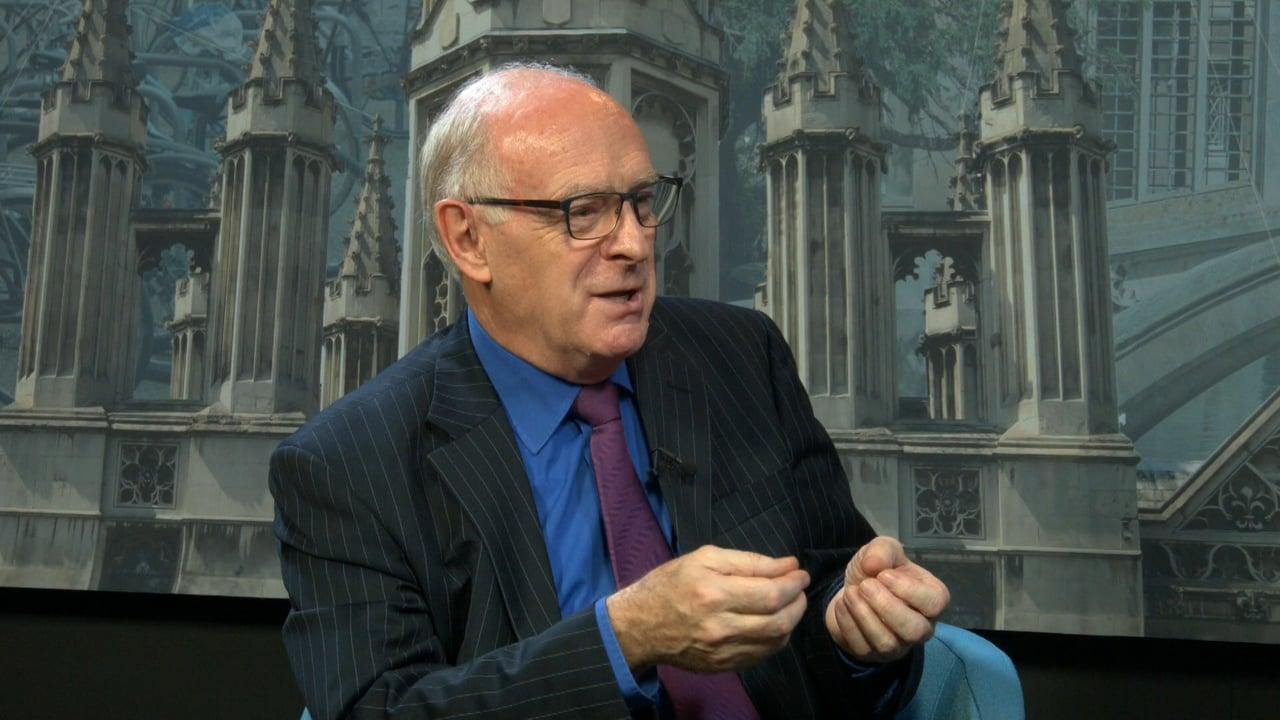 Psykoanalytikern och klimatrådgivaren David Wasdell (1942-)