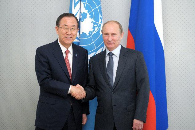 Putin och Moon