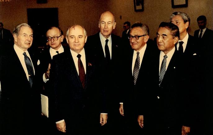 Rockefeller och Gorbachev