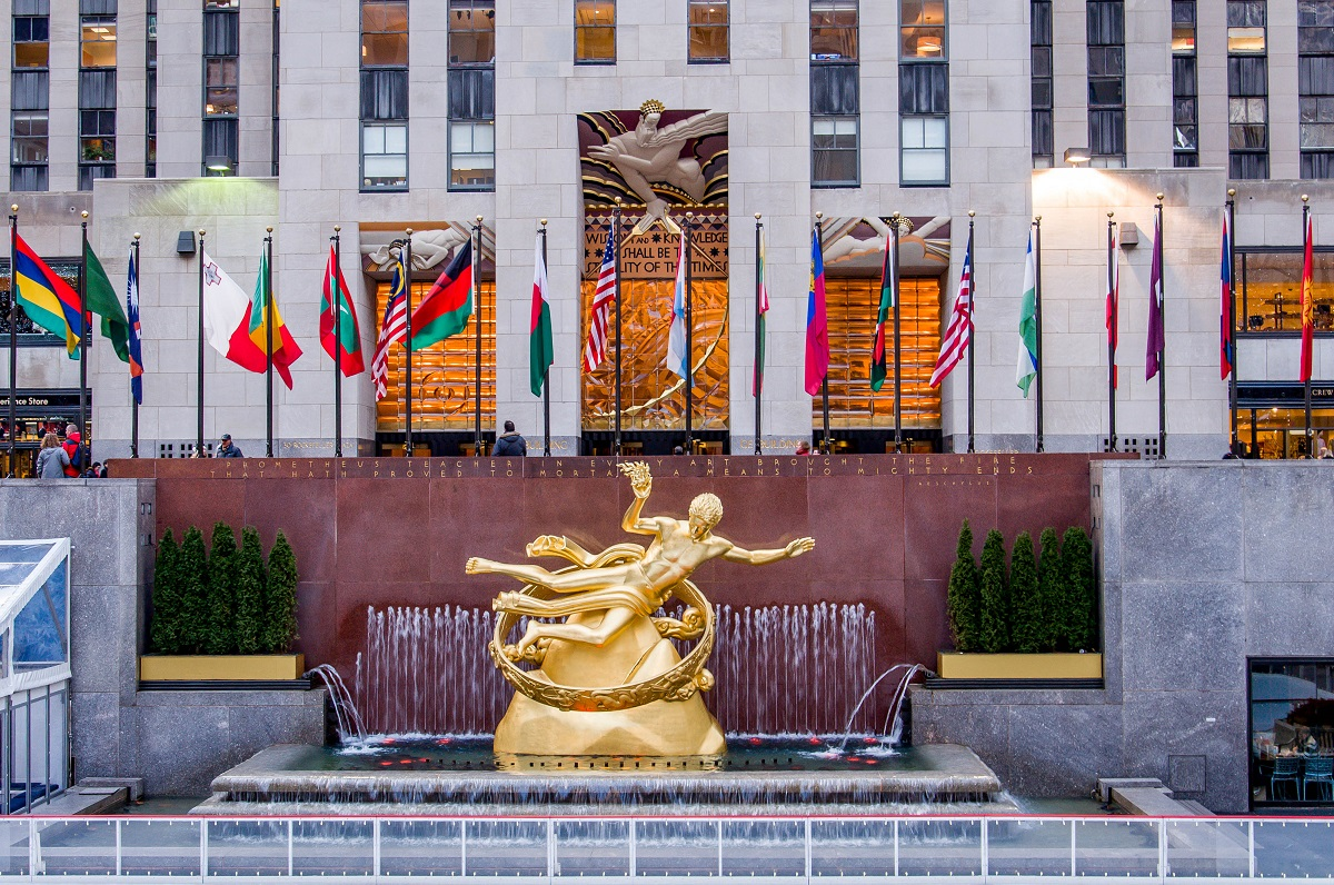 Rockefeller-Center-New-York-City-Paul-Manship-Prometheus
