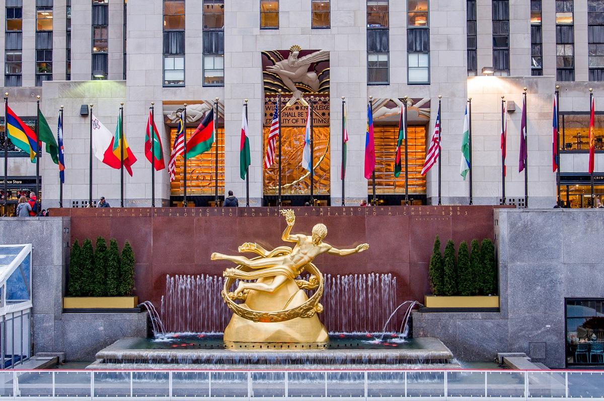 Rockefeller-Center-New-York-City-Paul-Manship-Prometheus