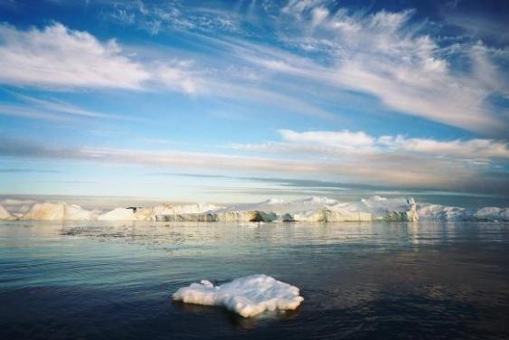 Smältande Grönland