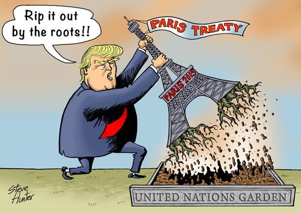 Trump parisavtalet