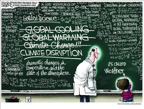 climate disruption