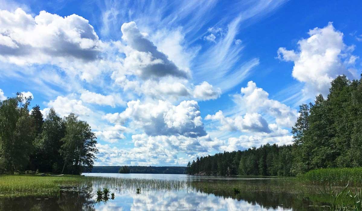 moln sjö