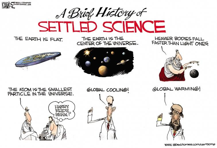 history of settled science