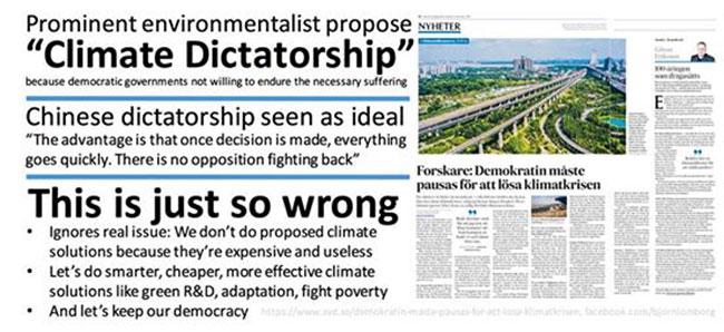 klimat diktatur