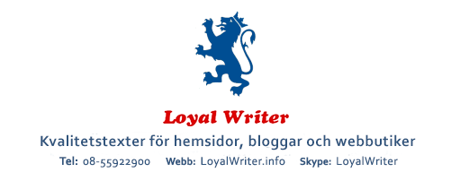 loyal writer