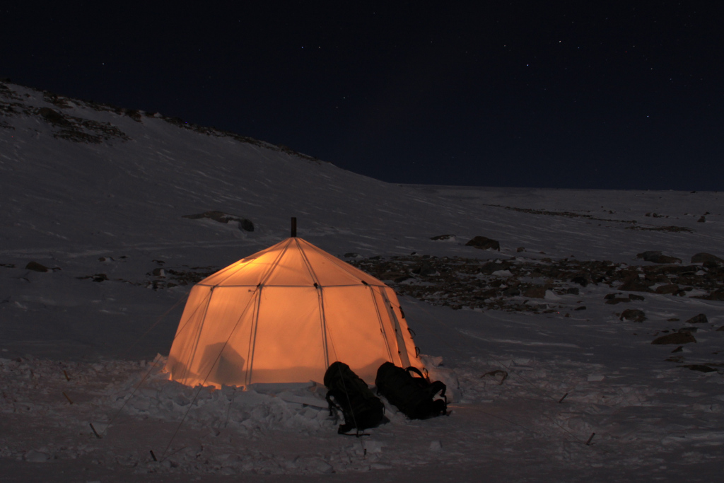 antarktisk vinter