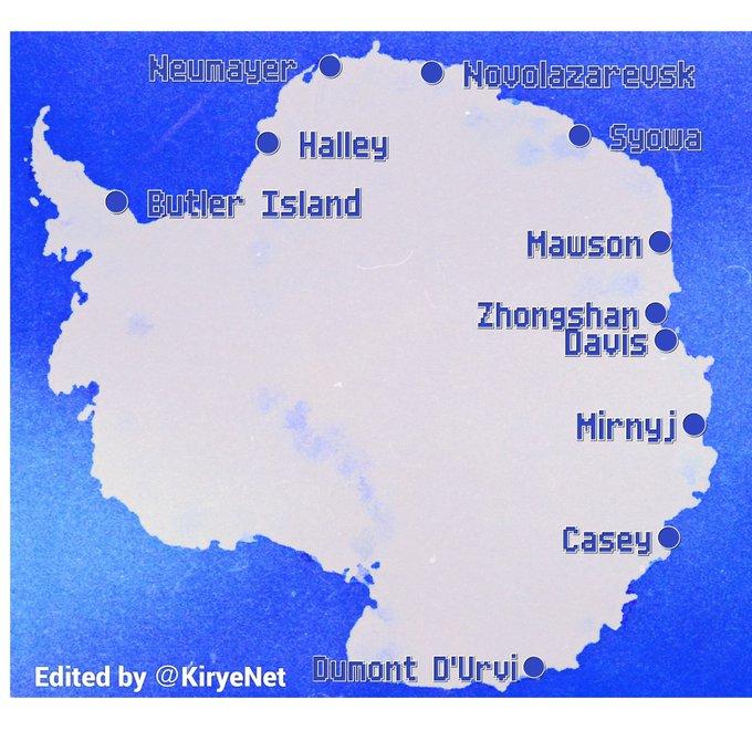 mätstationer antarktis