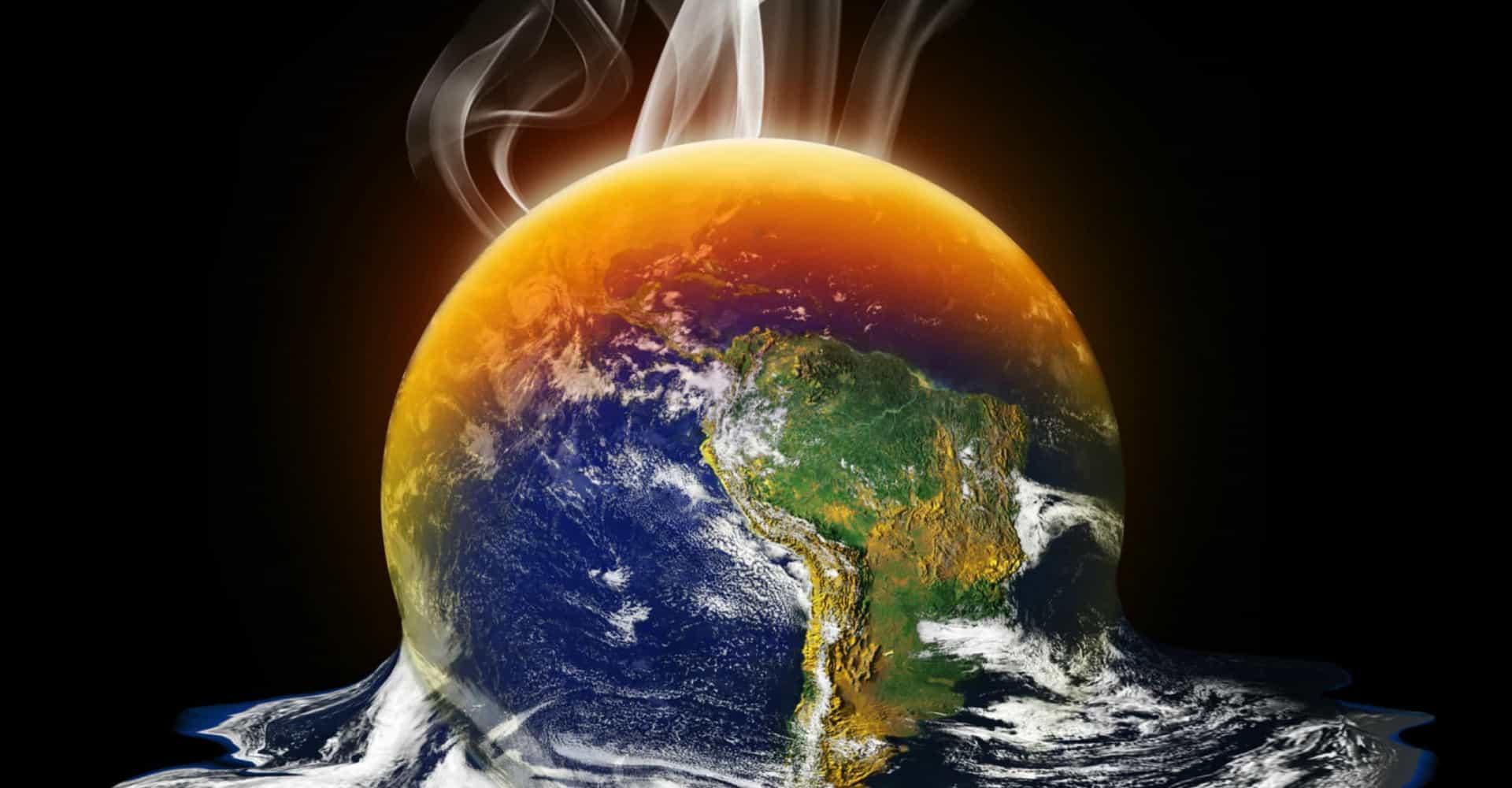Jorden varm