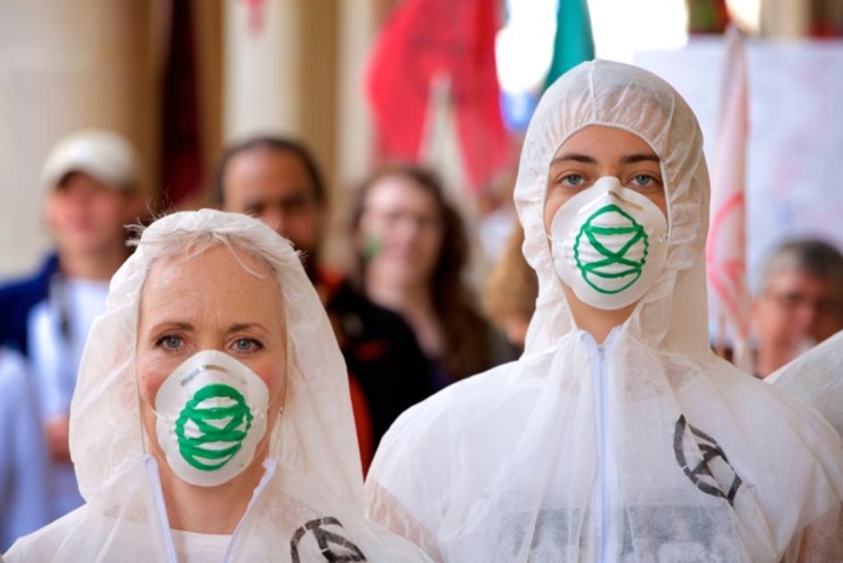 klimataktivister