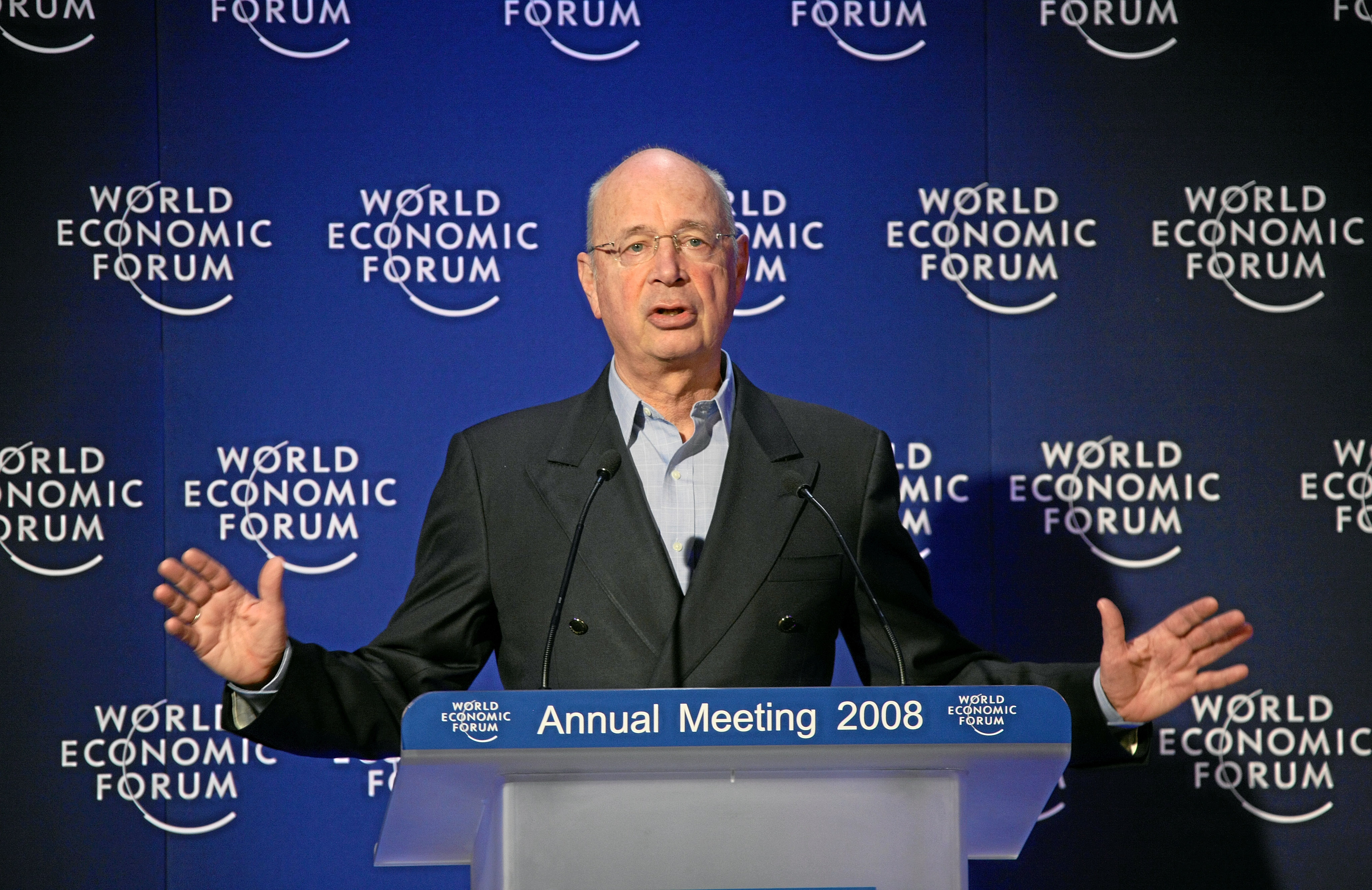 'Message from Davos: Believing in the Future': Klaus Schwab
