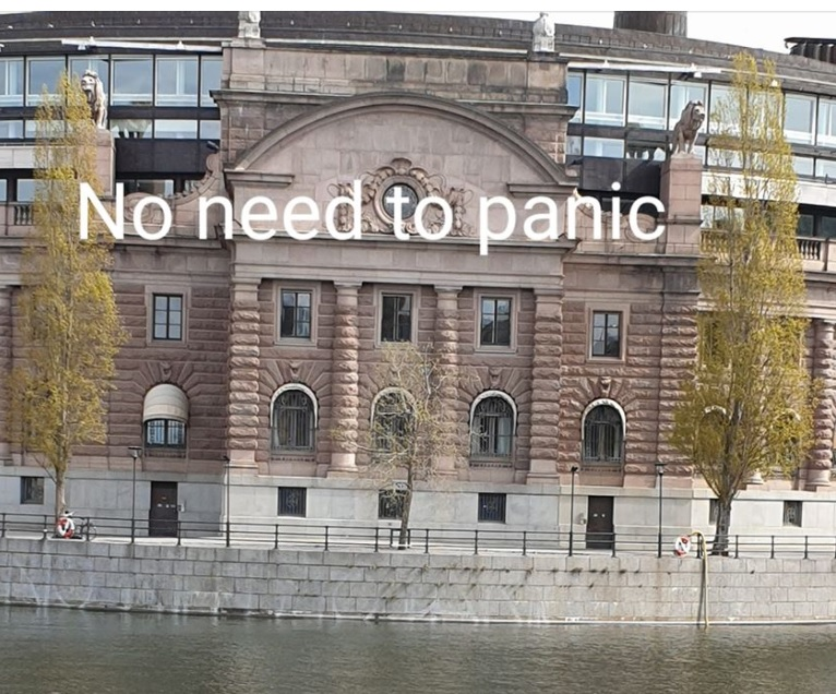 No need to panic