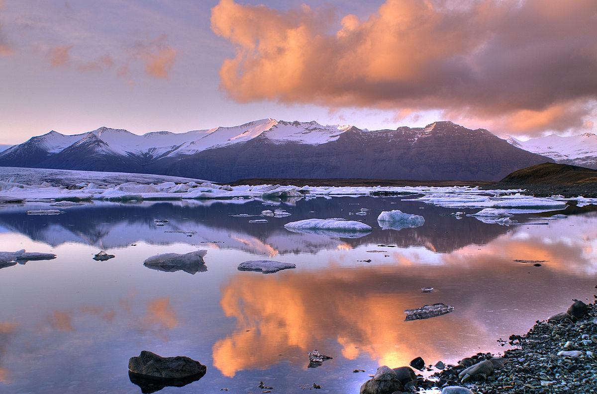 glaciärsjö